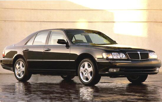 Front Right Black 1998 Infiniti Q45 Car Picture
