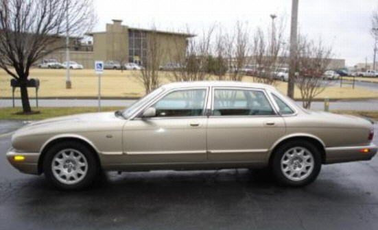 Left Side Gray 1998 Jaguar XJ Car Picture
