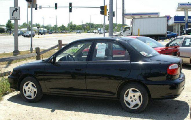 2000 Kia Sephia Car Picture