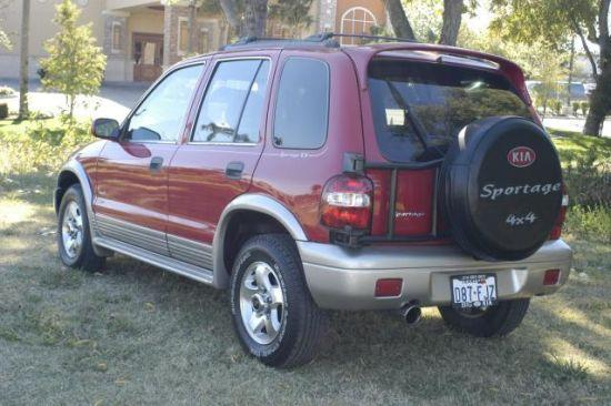 1998 Kia Sportage Car Picture