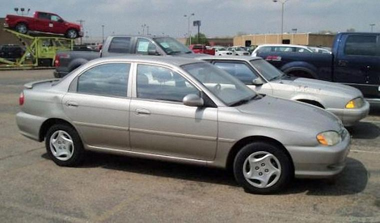 Front Right 1999 Kia Spectra Sedan Car Picture
