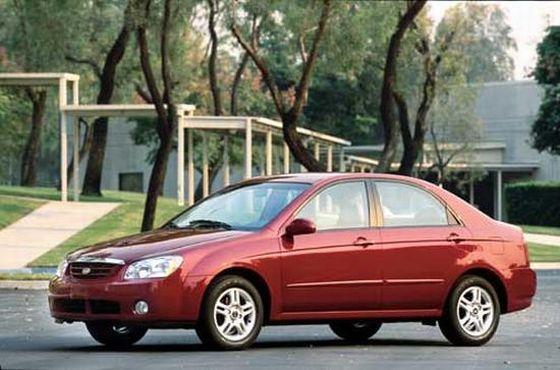 2004 Kia Spectra Car Picture
