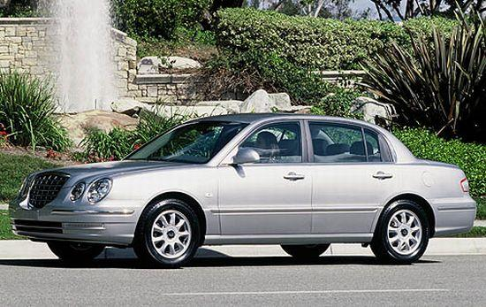 Left Side 2006 Kia Amanti Sedan Car Picture
