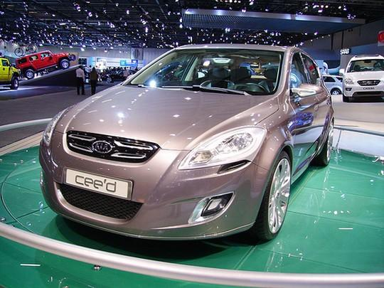 2008 Kia Cee'd Concept Car Picture