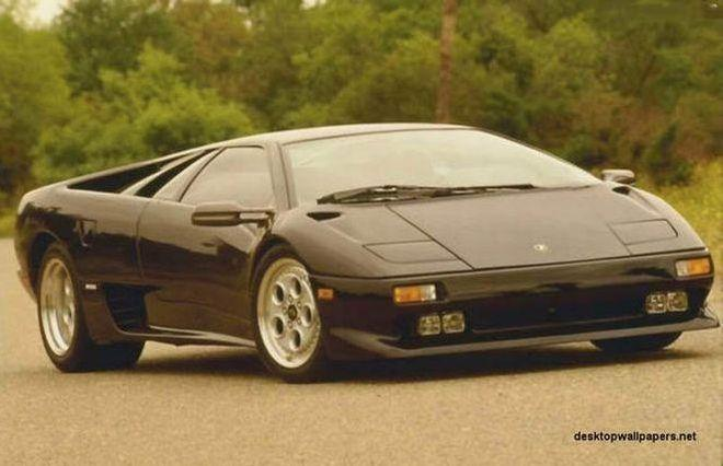 Front Right Lamborghini Diablo Car Picture Car Picture