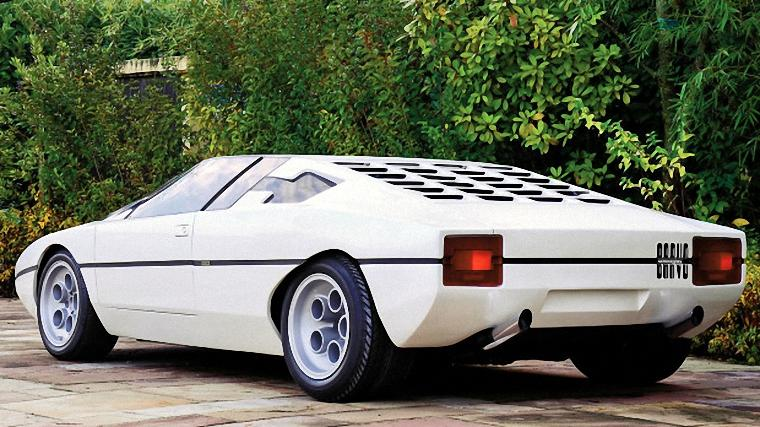 Rear Left View 1974 Lamborghini Bravo Car Picture