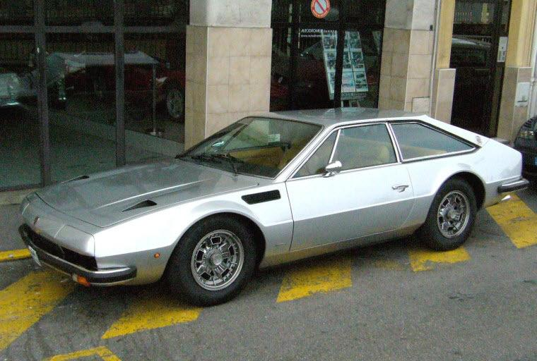 Left Top 1974 Lamborghini Jarama Car Picture
