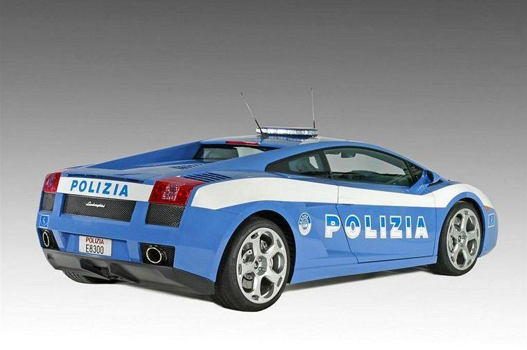 2004 Lamborghini Gallardo Police Car Picture