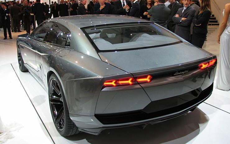 Rear View 2008 Lamborghini Estoque Concept Car Picture