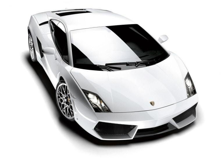 Top View 2009 Lamborghini Gallardo Car Picture