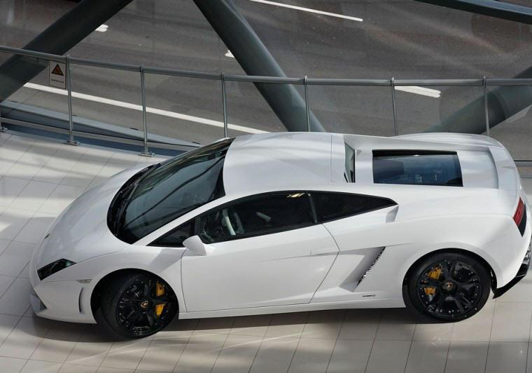 Top View 2009 Lamborghini Gallardo LP560 Car Picture