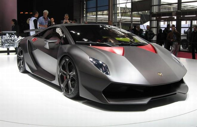 Front Right Lamborghini Sesto Elemento Concept Car Picture