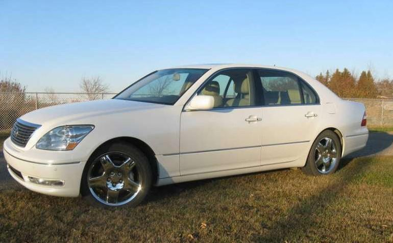 Front Left White 2006 Lexus LS 430 Car Picture