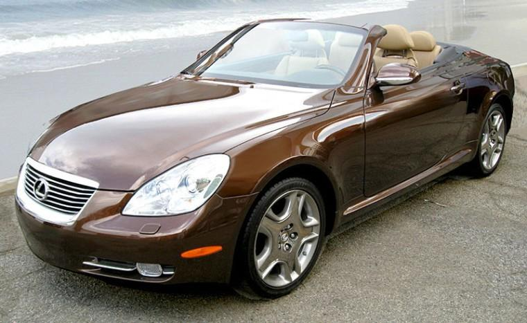 Front Left Brown 2006 Lexus SC 430 Car Picture
