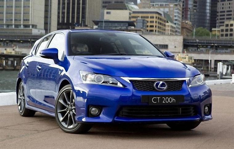 Front Right 2011 Lexus CT 200h F Sport Car Picture