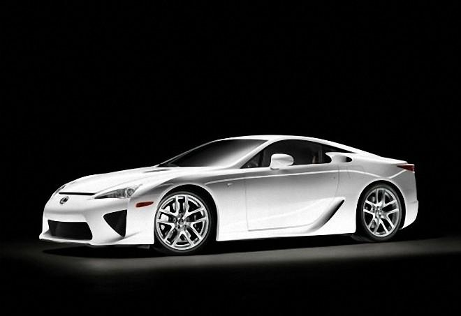 Front Left Silver 2011 Lexus LFA Car Picture