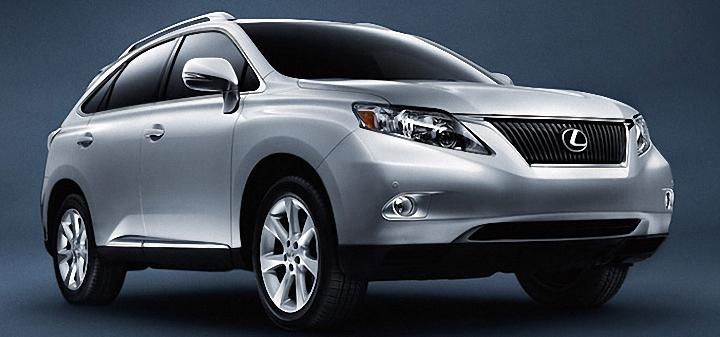 Front Right 2012 Lexus RX 350 Car Picture