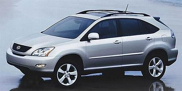 Front left Gray 2007 Lexus RX350 Car Picture