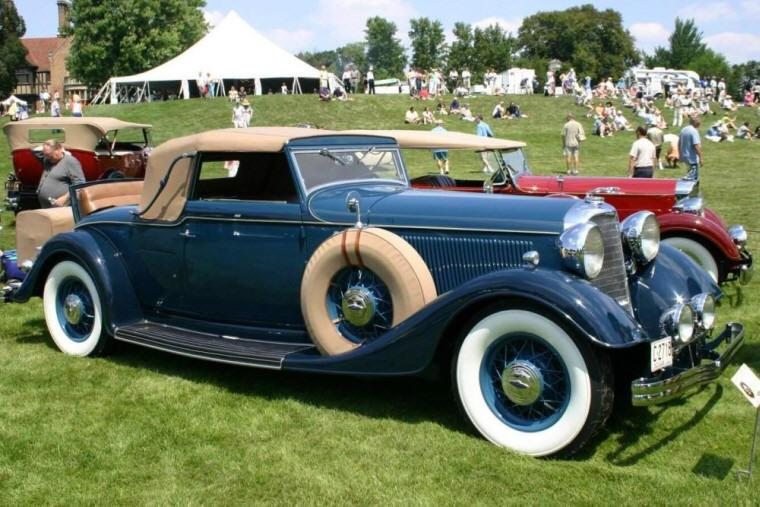 1933 Lincoln KB Convertible Car Picture