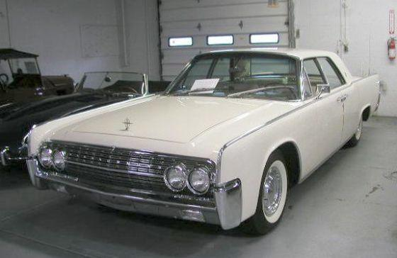 1962 Lincoln Continental Car Picture