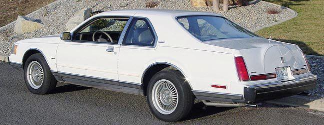 1989 Lincoln Mark VII LSC Car Picture