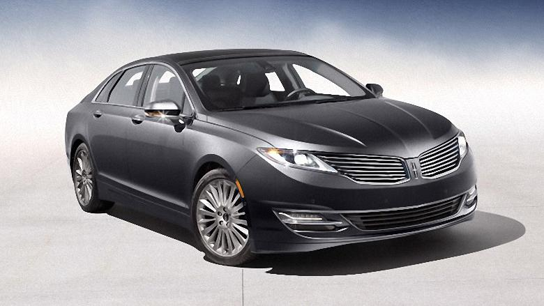 Font Right Gray 2013 Lincoln MKZ Hybrid Car Photo