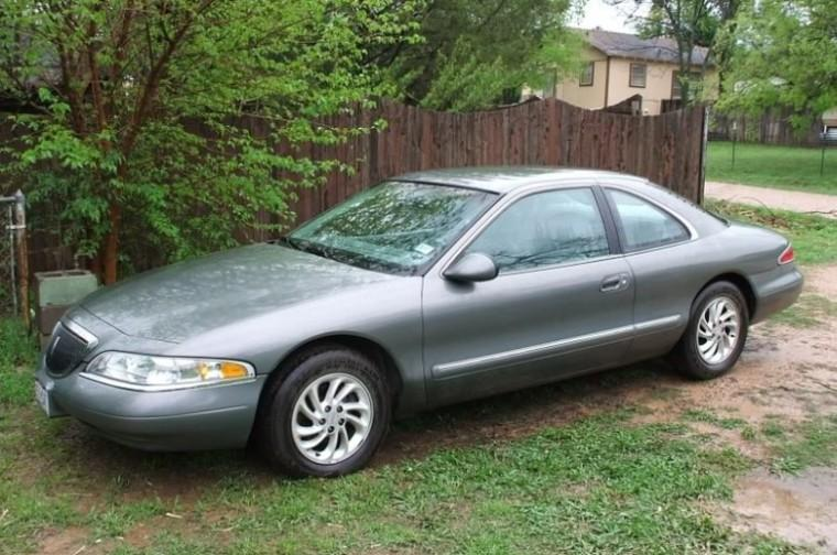 Front Left Gray Lincoln Mark VIII Car Picture