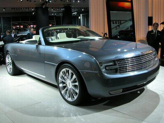 2004 Lincoln Mark X Concept Car Picture