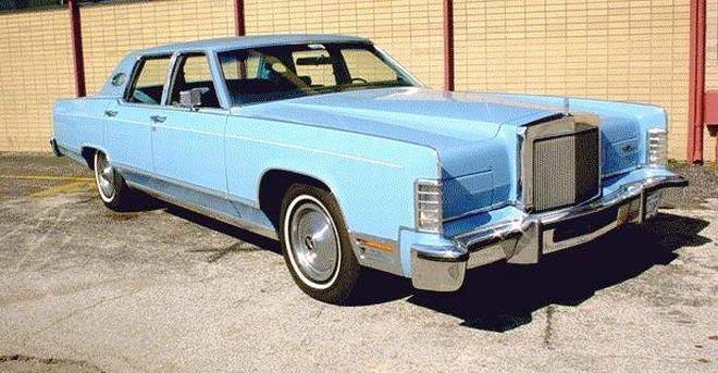1979 Lincoln Town Car Picture
