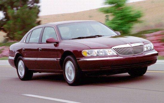 2002 Lincoln Continental Car Picture