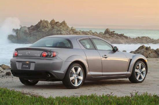 Rear Right Gray 2004 Mazda RX-8 Car Picture
