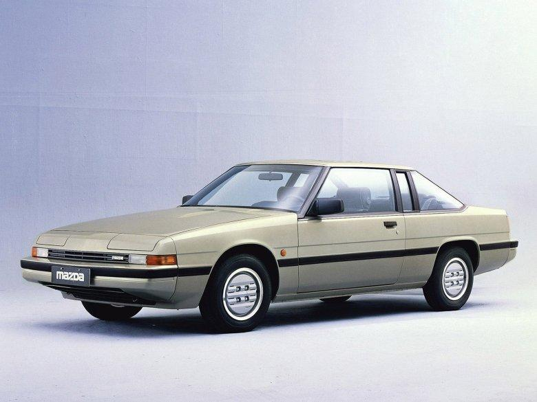 Front Left Side White 19871 Mazda 929 Car Picture
