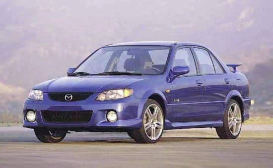 2001 Mazda Protege MP3 Car Picture