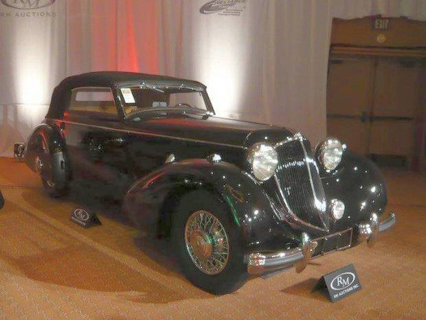 Front Right Black 1936 Mercedes-Benz 540K Special Car Picture