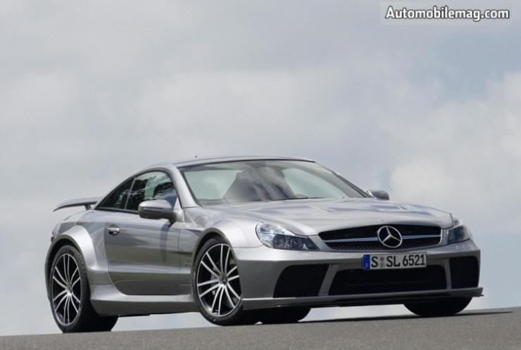 Front Right 2009 Mercedes-Benz SL65 AMG Car Picture