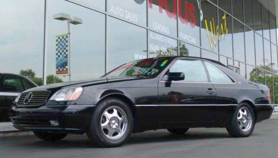 1999 Mercedes-Benz CL600 Car Picture