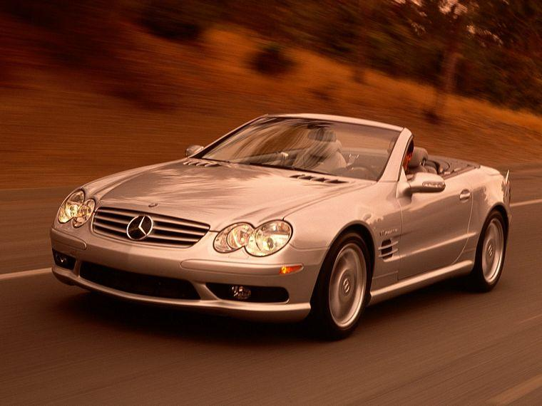2003 Mercedes-Benz SL55 Roadster Car Picture