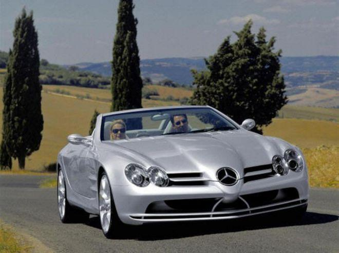 Mercedes-Benz SLR Vision Roadster Car Picture