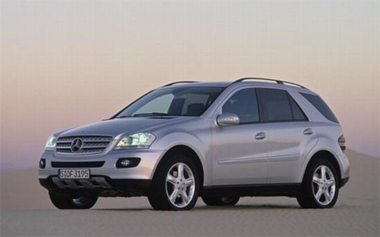 Front left Gray 2005 Mercedes-Benz ML500 Car Picture