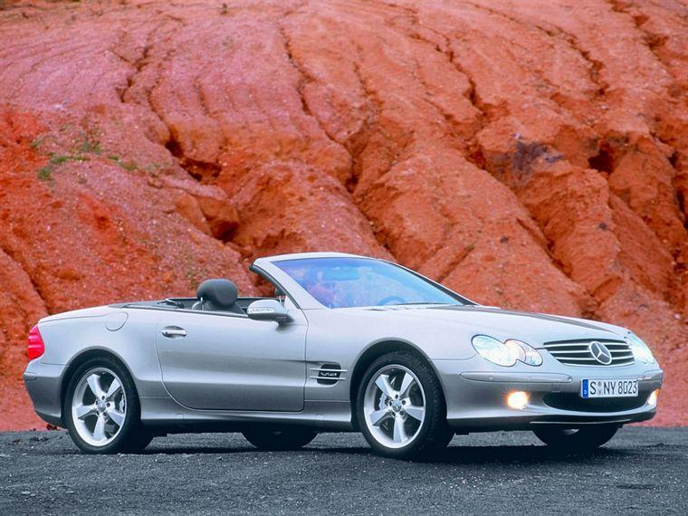 2004 Merceds-Benz SL600 Car Picture