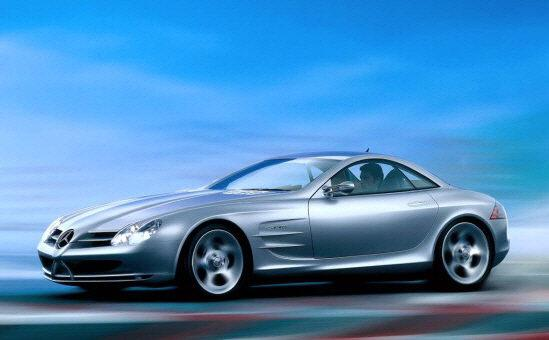 Mercedes-Benz SLR Concept Car Picture