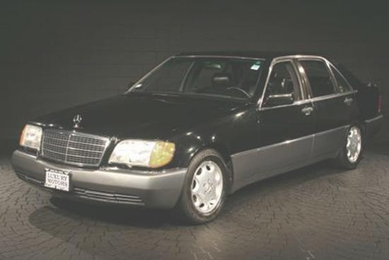 1992 Mercedes-Benz 600SEL Car Picture