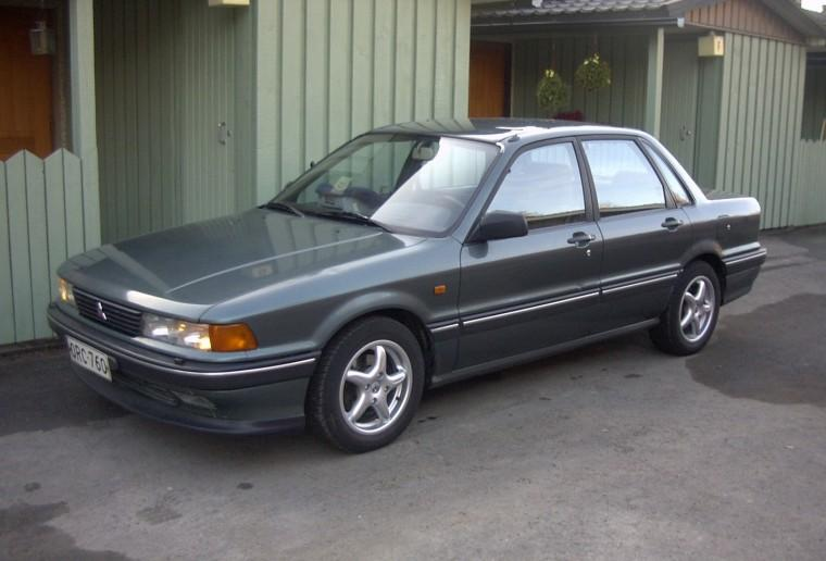 Front left Gray 1988 Mitsubishi Galant Car Picture