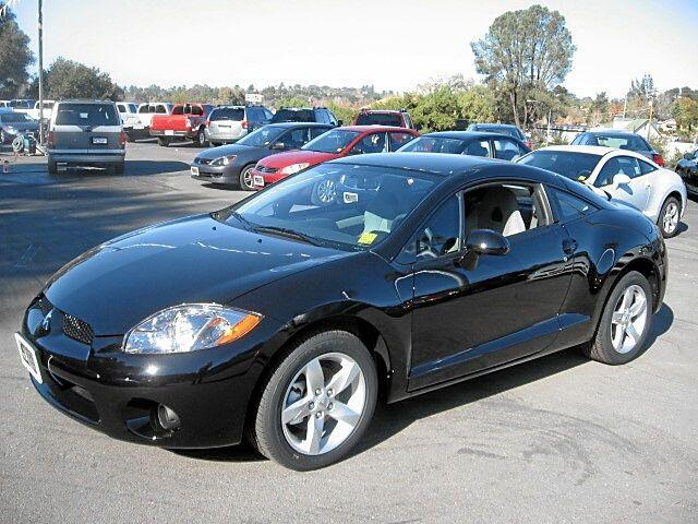 Front left Black 2007 Mitsubishi Eclipse Car Picture