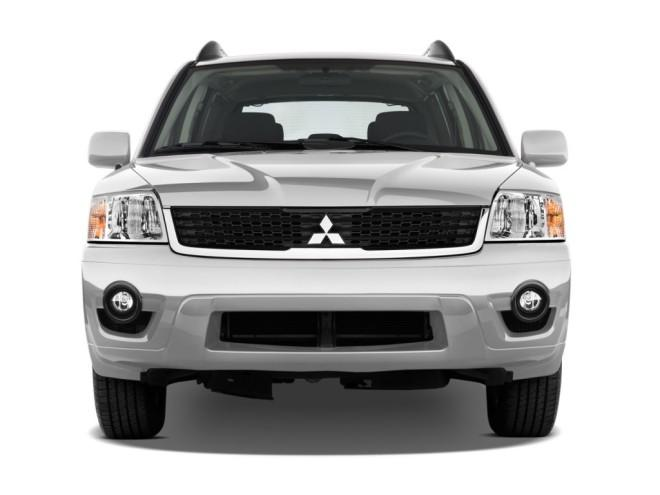 FrontView Silver 2010 Mitsubishi Endeavor Car Picture
