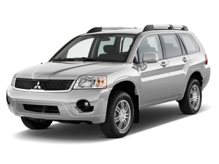 Front Left 2010 Mitsubishi Endeavour SUV Picture