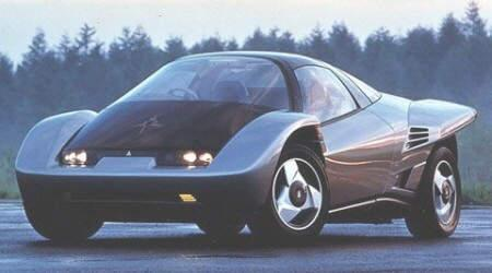 Front left Gray 1995 Mitsubishi Concept Car Picture