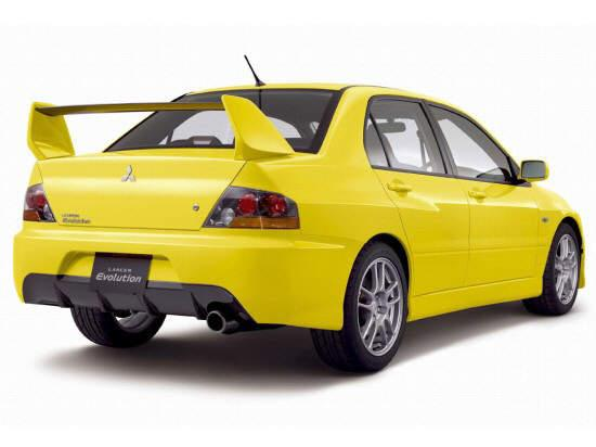 2006 Mitsubishi Lancer Evolution Car Picture