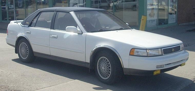 Front Right 1992 Nissan Maxima Car Picture