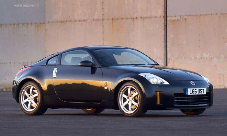 Front Right Black 2006 Nissan 350Z Car Picture